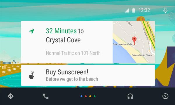 android auto mapa