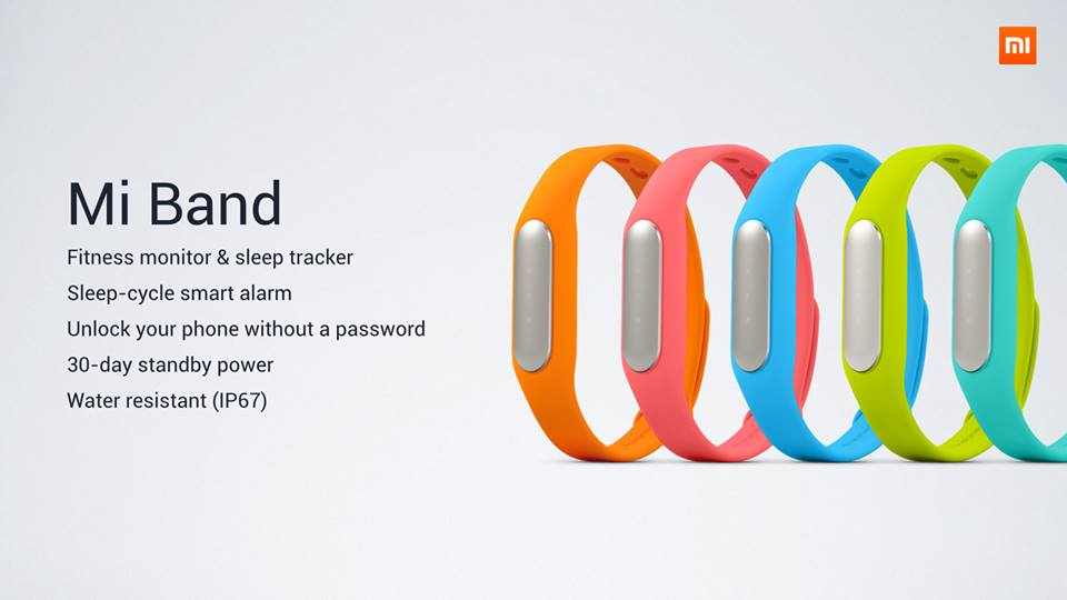 xiaomi miband cores