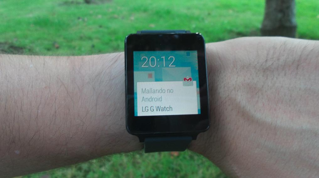 LG G Watch Gmail