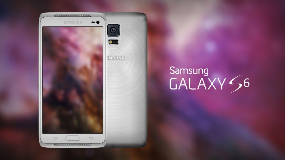 galaxy s6 concepto