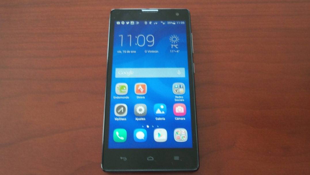 honor 3c dual front