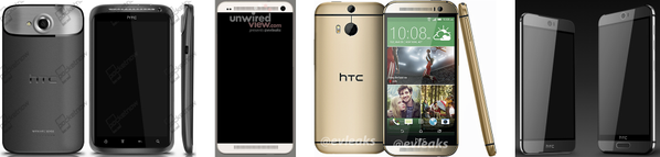 htc one evolucion