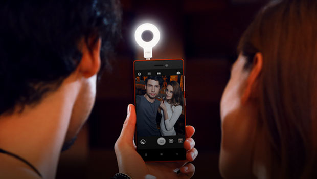 lenovo selfie flash