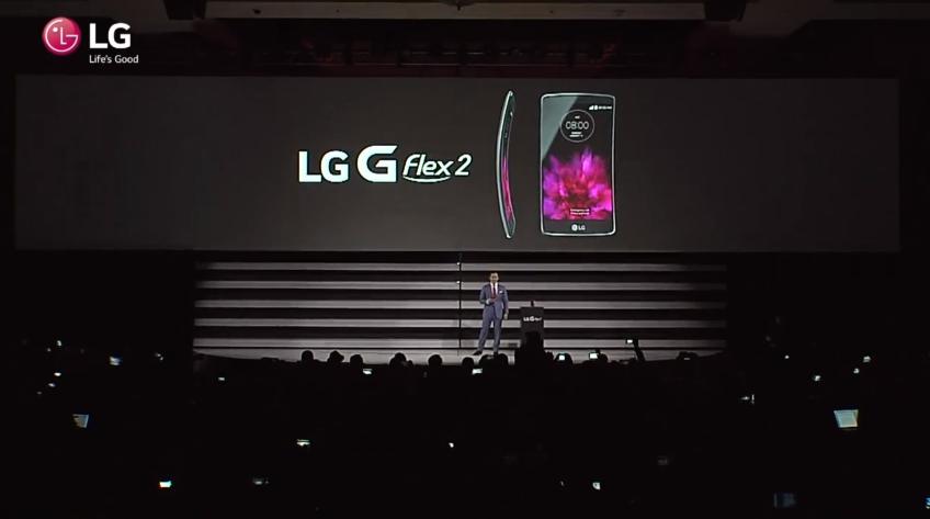 lg g flex 2 evento