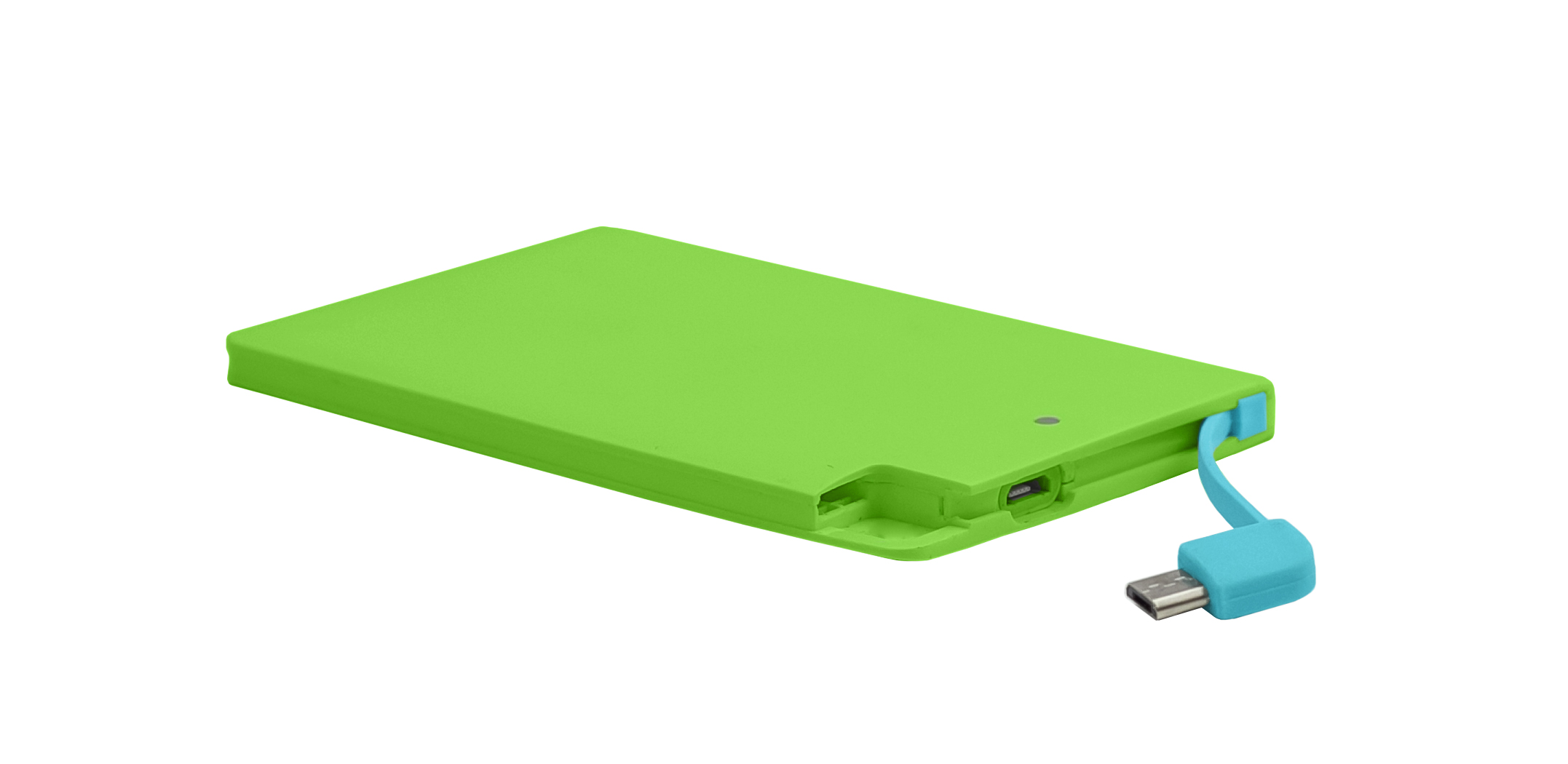 powerBankSlim-2600-green-abierto