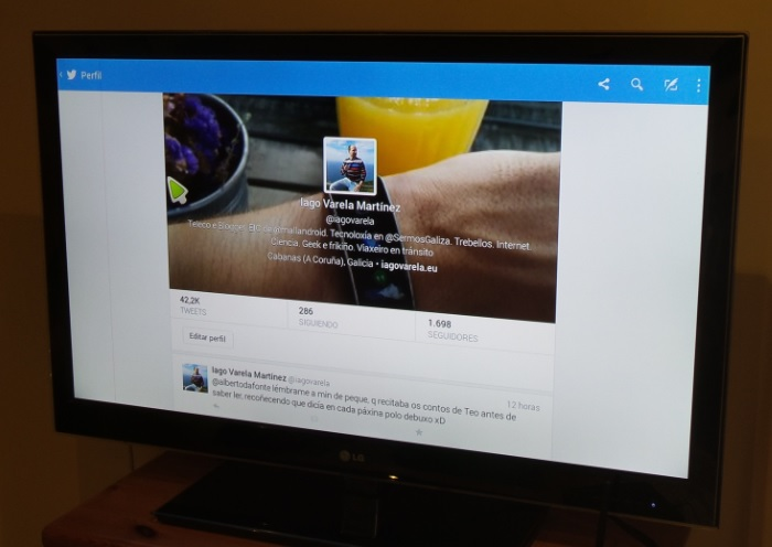 woxter tv interface twitter
