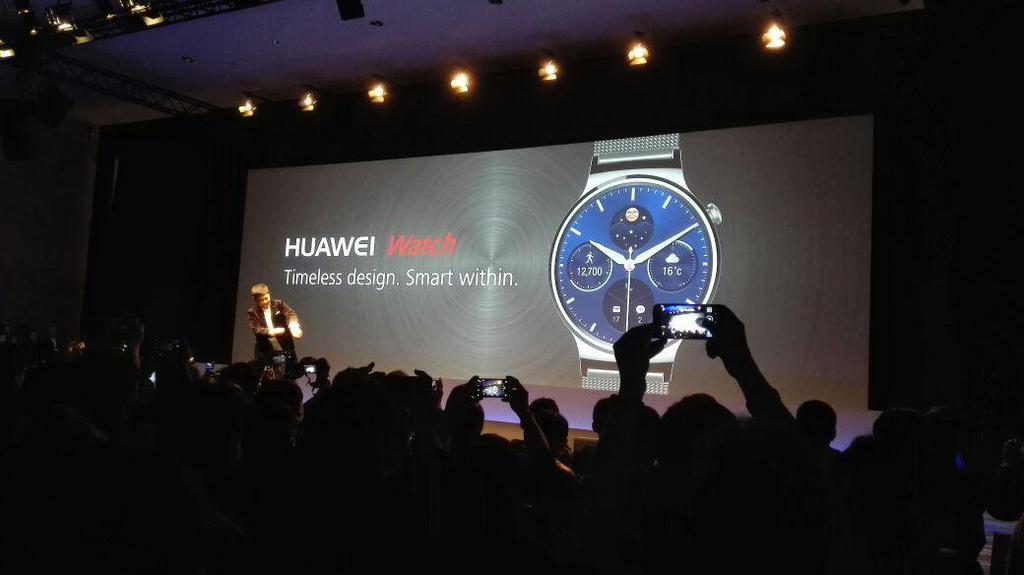 huawei watch presentacion