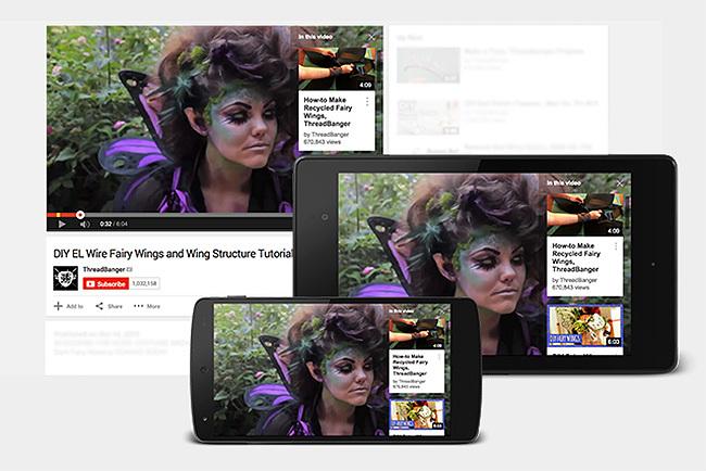 tarxetas youtube