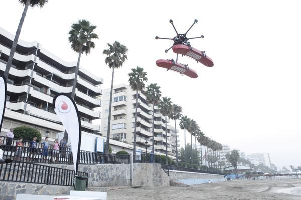 drone socorrista vodafone -3