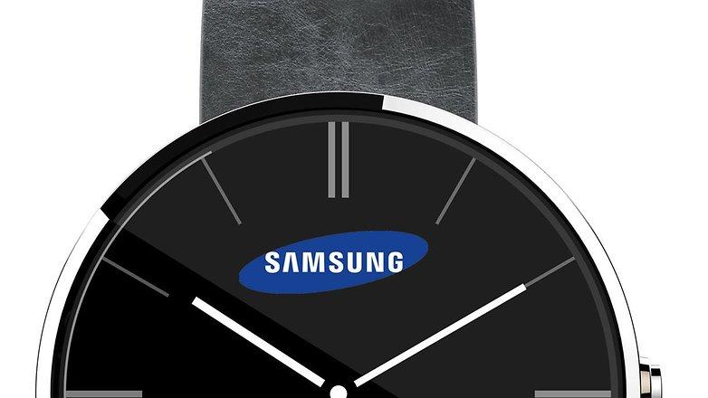 smartwatch circular samsung