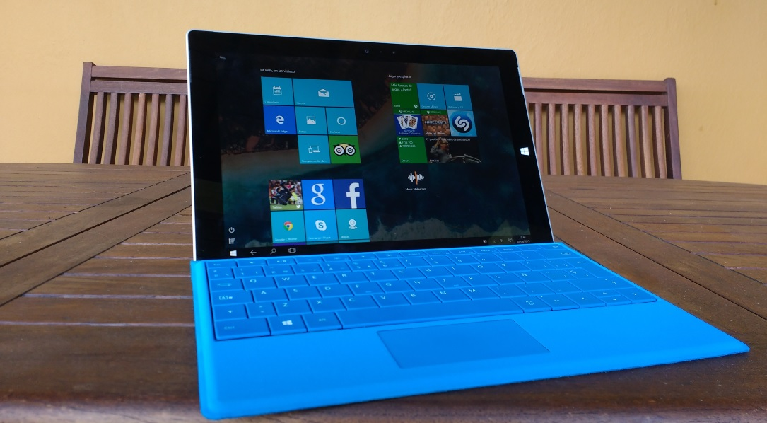 Surface 3 - 4