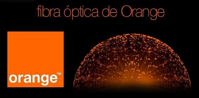 fibra optica orange