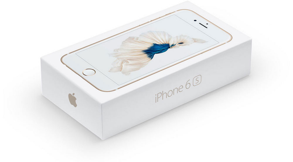 iphone 6s 6s plus caja