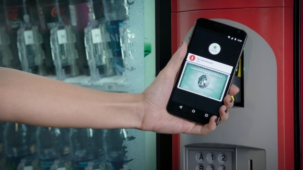 android pay cocacola