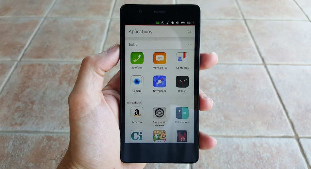bq ubuntu phone - 1