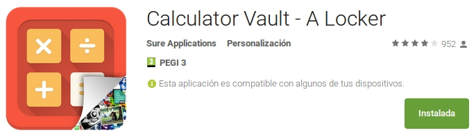 calculator vault - a locker
