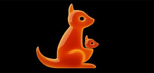 orange canguro familia
