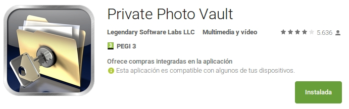 private photo vault