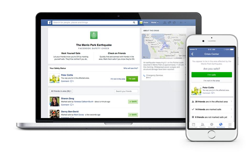 facebook safety check - 2