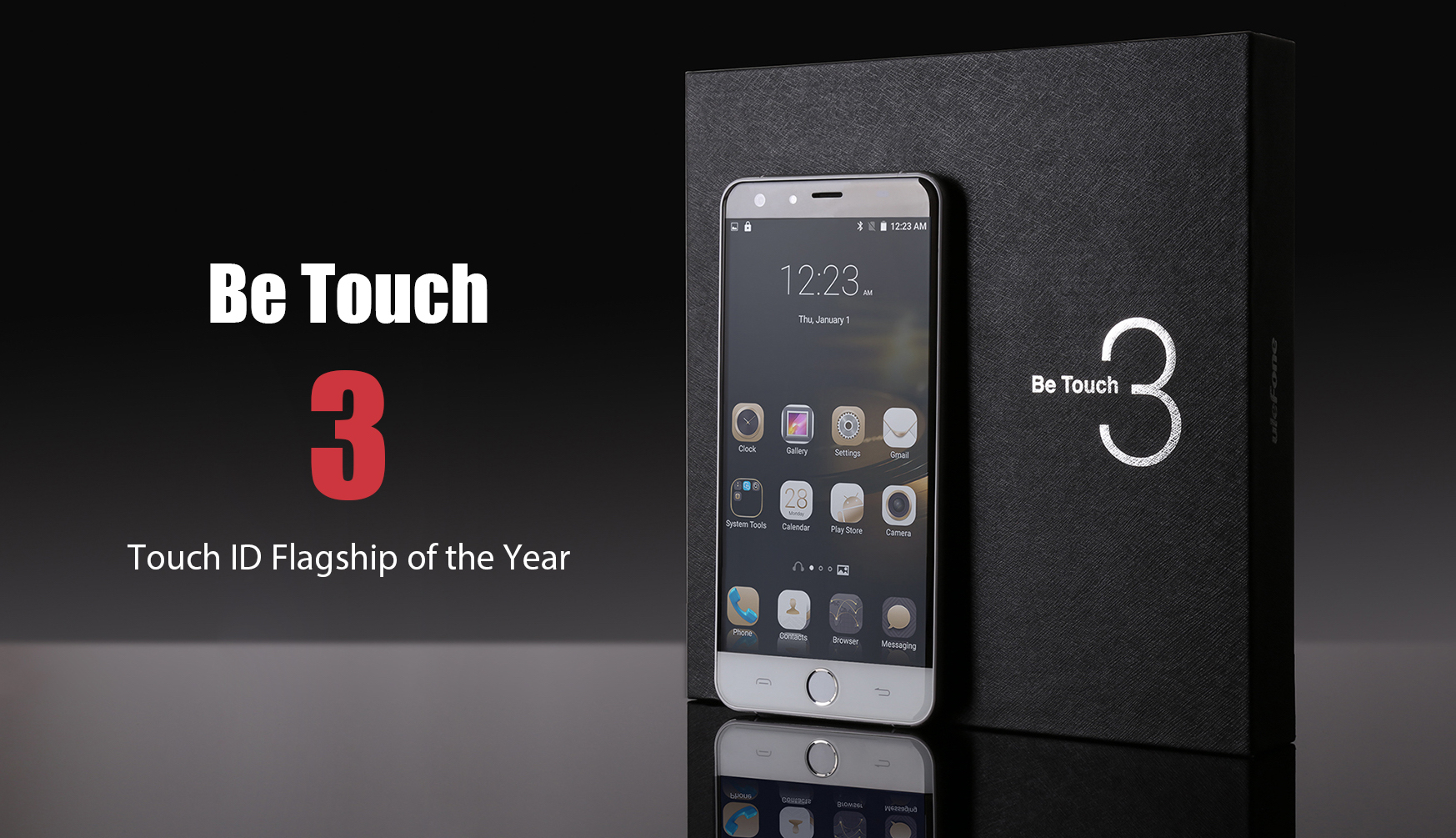 ulefone be touch 3 -3