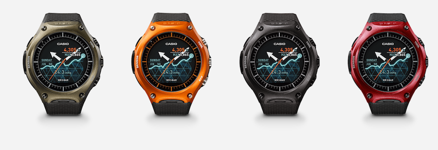 casio android wear - 2