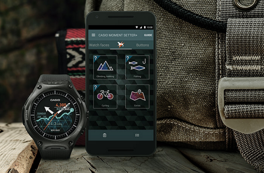 casio android wear - 3