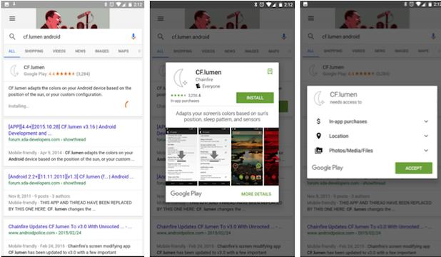 google install apps
