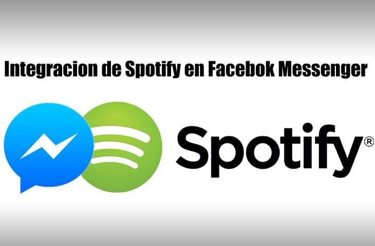 Integración Spotify FBMessenger