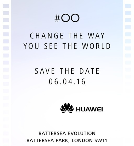 huawei p9 save the date