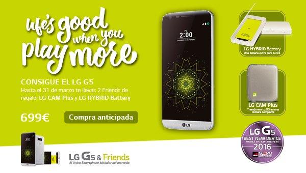 lg g5 compra anticipada
