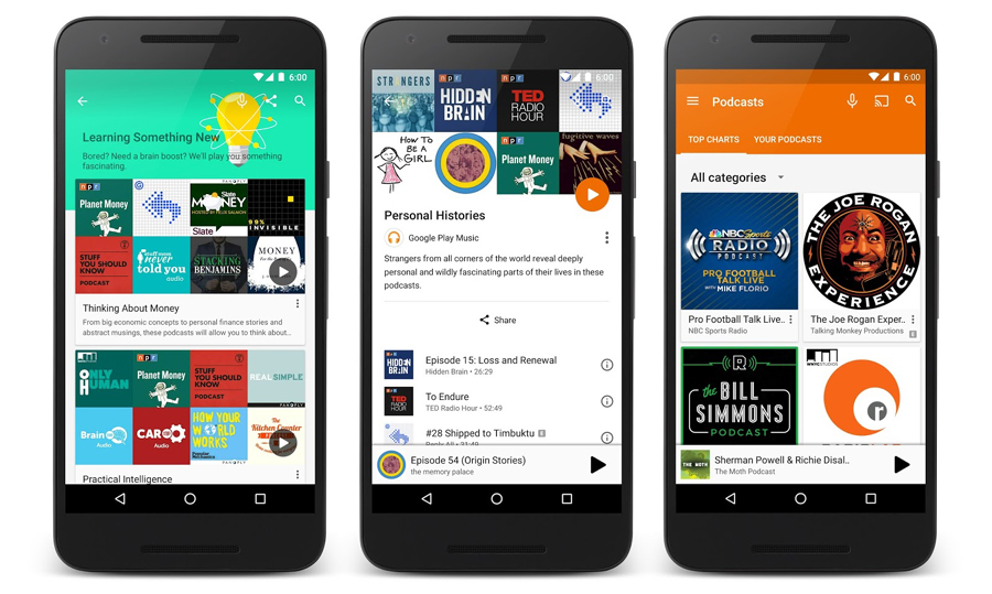 podcast google music