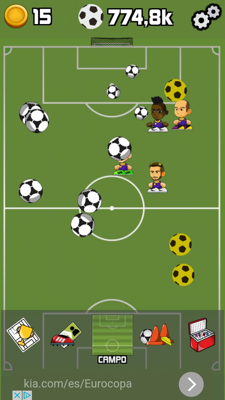 Fútbol Manger Clicker 02