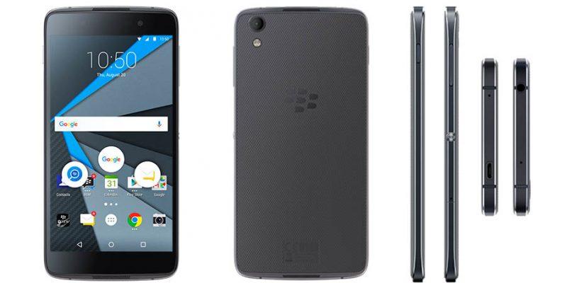 A nova BlackBerry DTEK50 aposta por Android e a seguridade