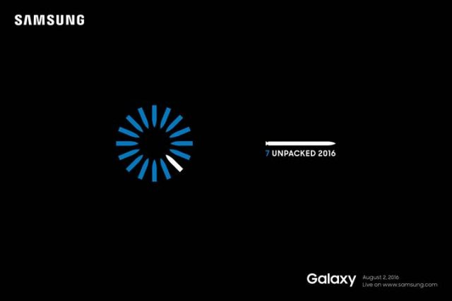 galaxy note7 unpacked