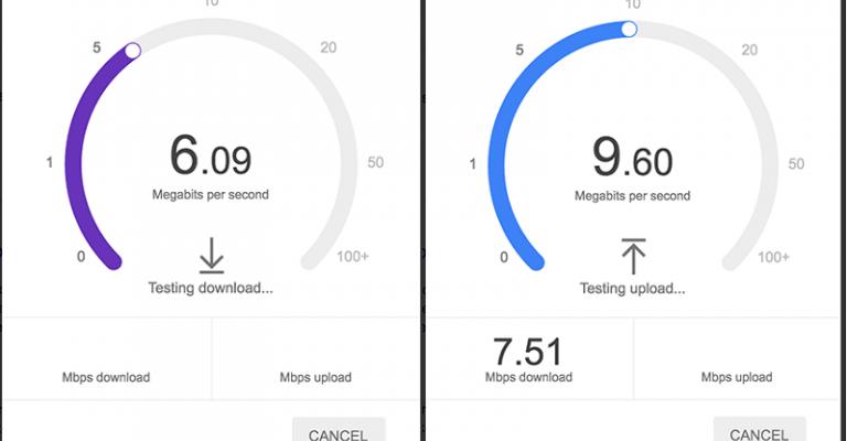 Google prepara o seu propio test de velocidade de conexión