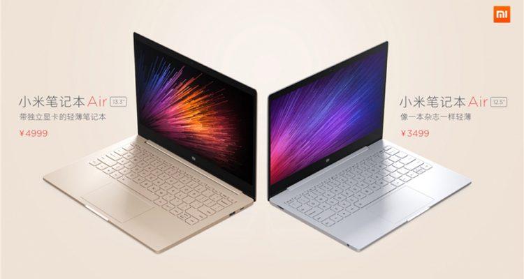 Xiaomi anuncia o Mi Notebook Air, o seu primeiro portátil