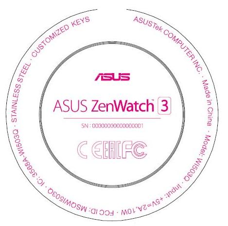 Asus Zenwatch 3 - 1