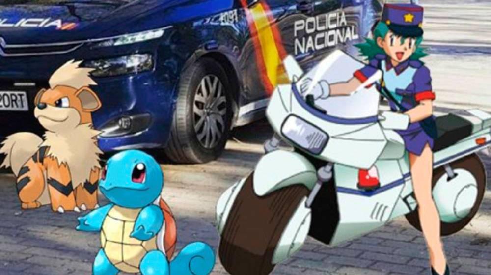 pokemon policia