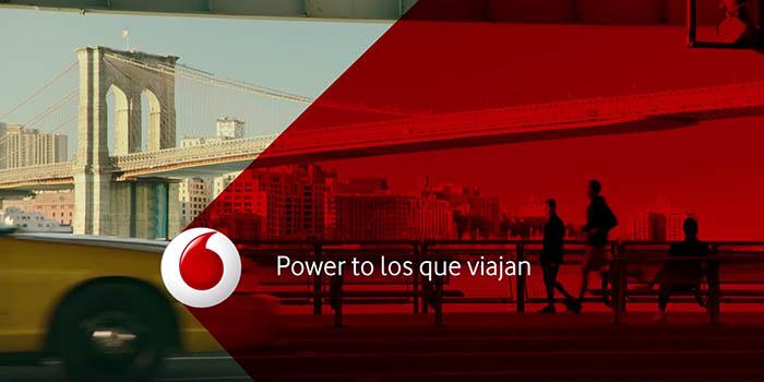 O roaming 4G de Vodafone xa chega a 100 países